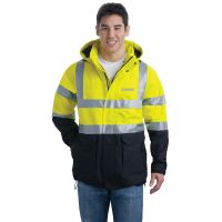 SJ799S, Small, Safety Yellow, Chest, Schwing Cap Silver.